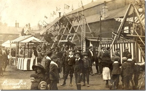 Burnley Fair, 1900